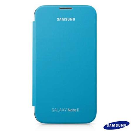 Capa Flip Samsung para Galaxy Note II Azul - EFC1J9FBEG