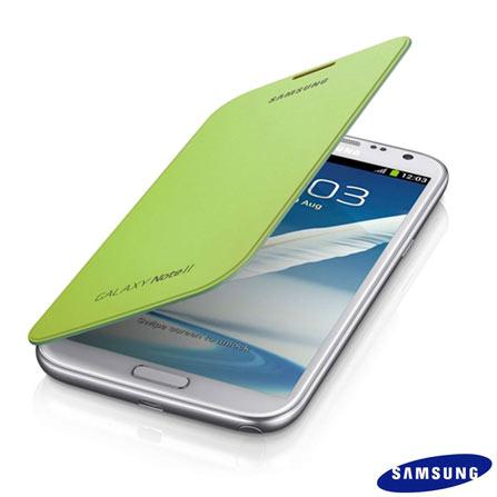 Capa Flip Cover Samsung Verde para Galaxy SIII, Verde