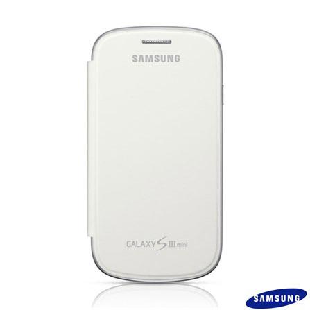 Capa Flip Cover Samsung Branco para Galaxy SIII, Branco