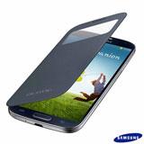 Capa para Galaxy S4 S View Cover Preta - Samsung - SGEFCI950BBE