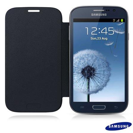 Capa Flip Samsung para Grand Duos I9082 SGEFFI908BLE Azul Marinho
