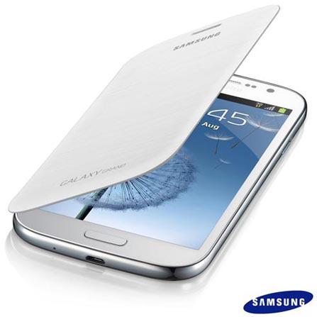 Capa Flip Cover Samsung para Grand Duos I9082 SGEFFI908BWE Branca