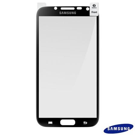Kit com 2 Películas Transparentes Samsung para Galaxy Note 2 - SGETCG1J9BEG, Não se aplica, Películas, 12 meses