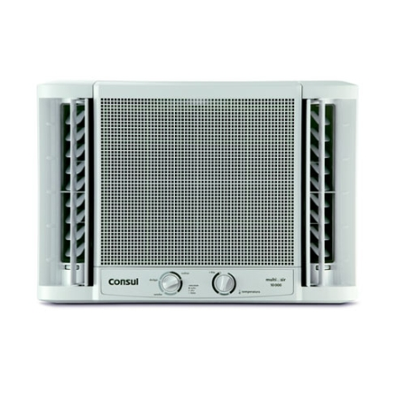 Condicionador de Ar Janela Multi Air 10.000Btus / Mecânico / Frio / Branco - Consul - CCB10BB, 110V, 220V, 10.000 BTUs, Janela, 9.000 a 11.500 BTUs