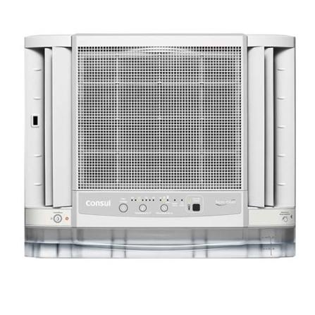 Condicionador de Ar Janela 7500Btus / Eletrônico / Frio / Branco - CCG07DB, 110V, 220V, 7.500 BTUs, Janela, 5.000 a 8.500 BTUs