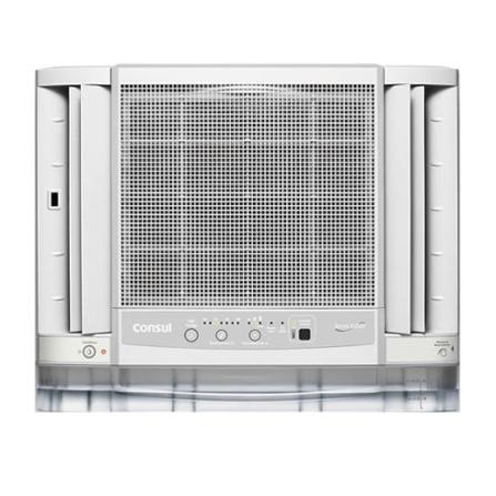 Condicionador de Ar Janela 10000Btus / Eletronico / Frio / Branco - CCG10DB - CCG10DB, 110V, 220V, Branco, 9.000 a 11.500 BTUs, 10.000 BTUs, 12 meses