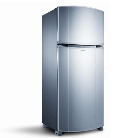 Refrigerador 2 Portas 402L Frost Free Inox  - Bem Estar Consul - CRM45AR, 110V, 220V, 02 Portas, 02 Portas, Sim, 402 Litros, 85 Litros, 317 Litros, 55 kWh/mês, Inox, De 351 a 500 litros
