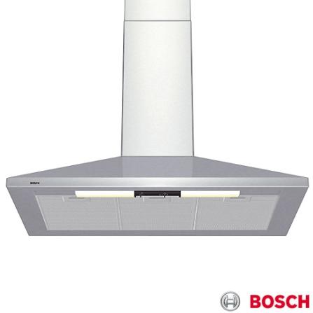 Coifa de Parede 90CM / Inox - Piramidal Bosch - DKE935CBR, 110V, 90 cm, Parede