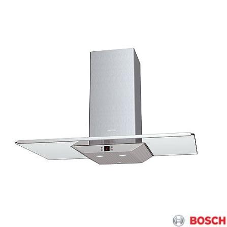 Coifa de Parede Eletrônica 90cm / Vidro - Bosch - DKE965MBR, 220V, 90 cm, Parede