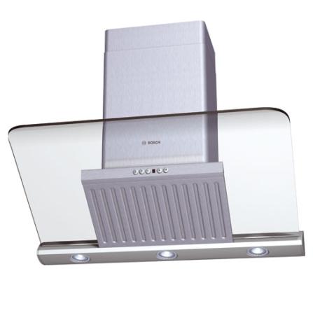 Coifa de Parede 90cm / Vidro / Inclinada - Bosch - DKE995FBR, 90 cm, Parede