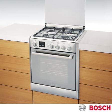 Fogão de Embutir 4 Bocas Express Control Inox Bosch - HEC66X51ED, LB, Embutir, a Gás, 04 Bocas, Superautomático, 01, Inox