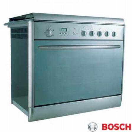 Fogão de Embutir 5 Bocas Safety Cook Inox Bosch - HEK66X49EDP4, Embutir, a Gás, 05 Bocas, Automático, 01, Inox, 01 ano