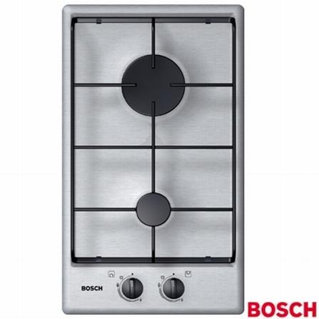 Cooktop 2 Bocas de Embutir Gás Inox - Bosch