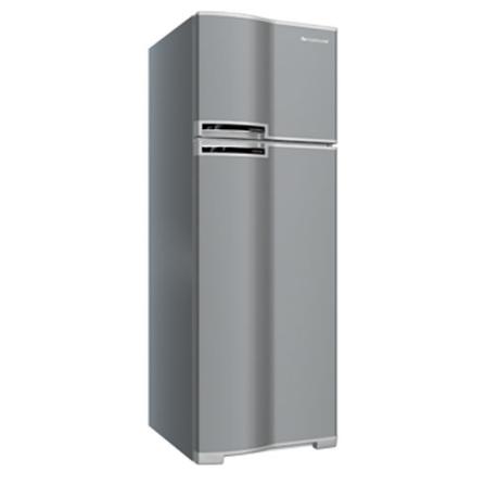 Refrigerador 2 Portas 318L Frost Free com Painel de Controle Eletrônico / Prateleira Retrátil no freezer / Inox - Contin, 110V, 220V, 02 Portas, 02 Portas, Sim, 318 Litros, 71 Litros, 247 Litros, Inox, De 141 a 350 litros