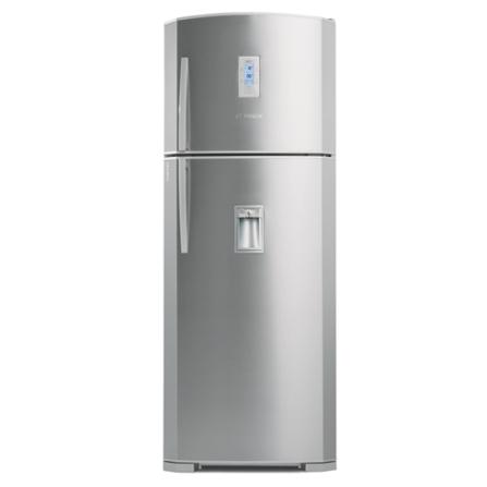 Refrigerador 2 Portas 445L Frost Free com Dispenser de Água / Painel LCD / Inox - Bosch - S490FFE6A1IN, 110V, 220V, LB, 02 Portas, 02 Portas, Sim, 445 Litros, 108 Litros, 337 Litros, Sim, Inox, De 351 a 500 litros