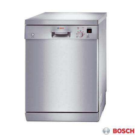 Lava Louça 12 Serviços / Inox - Ecoplus Bosch - SGS55E08BR, 110V, 220V, LB, 12 Serviços
