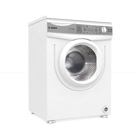 Lavadora de Roupa 5kg Profissional / Painel eletrônico / 5 Programas / Sistema Anti-Rugas / Branco - Bosch - WFA246S42, 110V, 220V, Branco, Até 6 kg, 05 kg, 12 meses