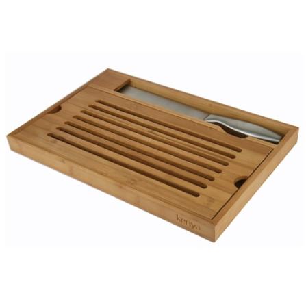 Tábua para Pão com Faca em Inox - Cuisinart - 4080100006