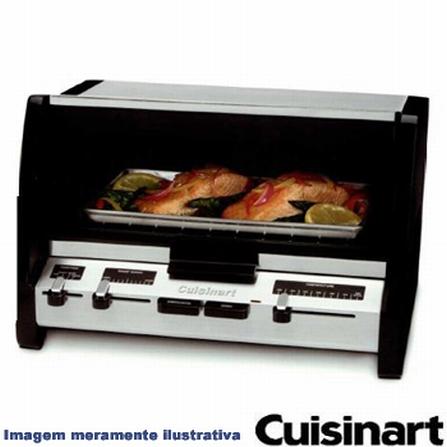 Forno Elétrico em Aço Escovado Cuisinart - RTO_20, 110V