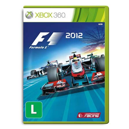 Jogo Fórmula 1 2012 BR para XBOX 360 - Codemaster - XBF12012
