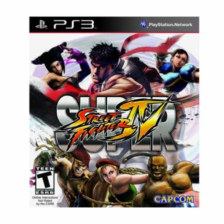 Jogo Super Street Fighter IV para PS3  - STRFICHTERIV