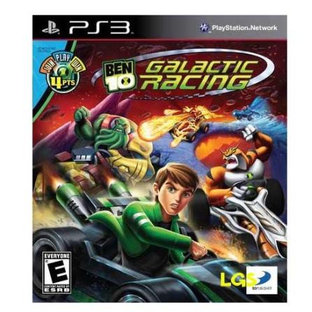 Jogo Ben 10 Galactic  Racing para PS3 - BEN10RACING