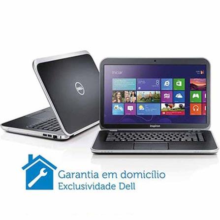 Notebook Dell i15RSE-4670 com 3ª Geração do Processador Intel® Core i7-3632QM, 8GB de Memória, 1TB de HD, Tela LED de 1