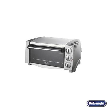 Mini Forno Elétrico 12.5L / Inox - De Longhi + Mixer e Mini Processador Vertical / Inox - Cuisinart - CJ1238_CS77