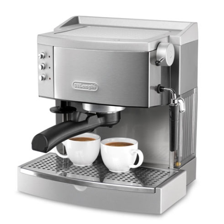 Máquina de Café Espresso Manual / Cappuccino System / Inox - Delonghi - EC700, 110V, 220V