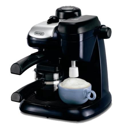Cafeteira Italiana com Capacidade para Fazer de 2 a 4 Xícaras de Café / Preta - De Longhi - EC9, 110V, 220V