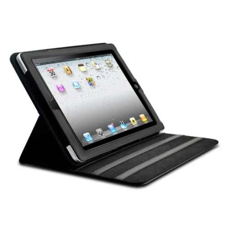 Capa para iPad 2 em Fibra de Carbono Preta Dexim, Preto