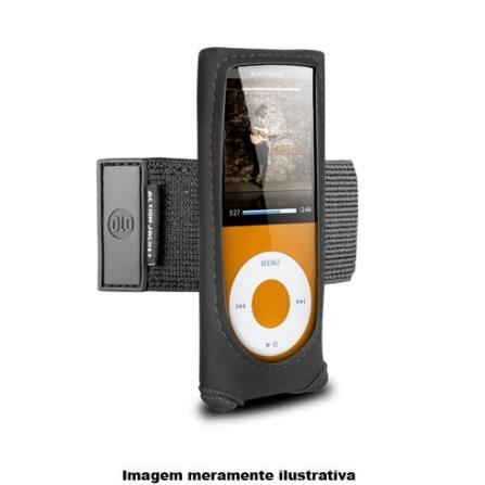 Braçadeira Preta em Neoprene para iPod Nano 4°Geração / Ideal para Prática de Esportes - DLO - DLA7102217, 03 meses