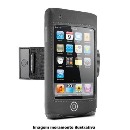 Braçadeira Preta de Neoprene para iPod Touch 3°Geração / Protege Contra Arranhões e Impactos - DLO - DLA7105517, 03 meses