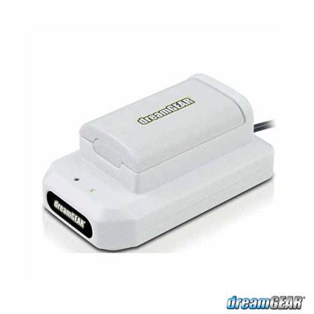 Carregador e Bateria Branco para XBOX 360, Bivolt, Bivolt, Branco, Cabos e Adaptadores, Xbox 360