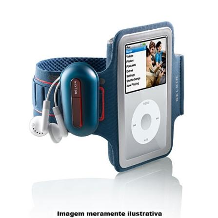 Braçadeira Azul para iPod Classic - Belkin - F8Z201MBL