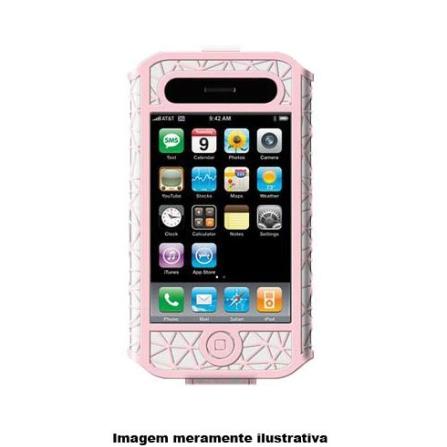 Capa Micro Grip Rosa para iPhone 3ª Geração - Belkin - F8Z332PKWH, Rosa, 06 meses