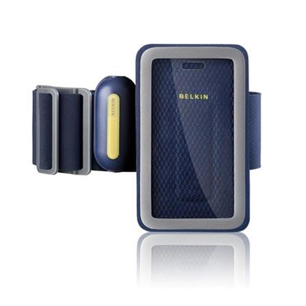 Bracadeira Esportiva Azul em Neoprene para iPhone 3 Geracao - Belkin - F8Z334, Azul