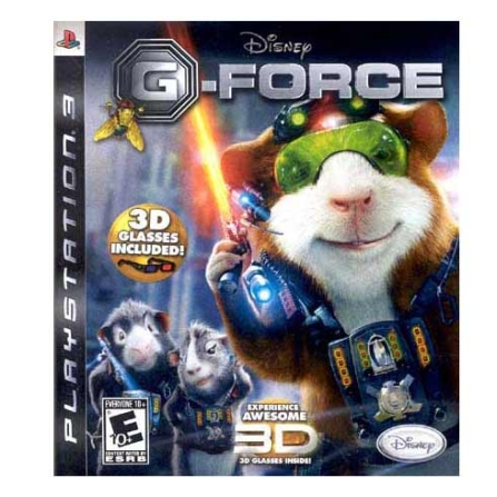Jogo Disney G-Force para PS3 -  DISNEYGFORCE