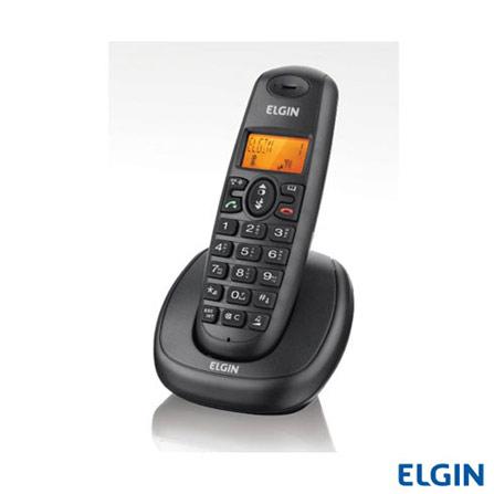 Ramal sem Fio Elgin F-7000R Dect 6.0, Sim, Sim, Não possui, Não, Não, Não