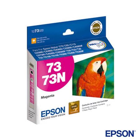 Cartucho de Tinta Epson T073320 Magenta Durabrite Ultra, Cartuchos