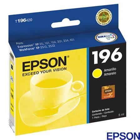 Cartucho de Tinta Epson Ultra Ink Amarelo, Cartuchos