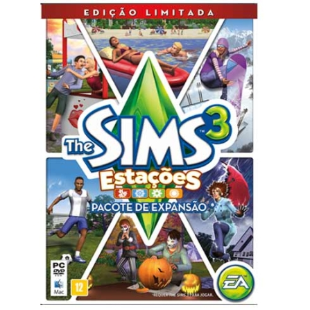 Jogo The Sims 3: Estações - Pacote de Expansão (Edição Limitada) para PC