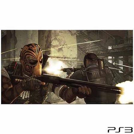Jogo Army of Two: The Devil's Cartel para PlayStation 3, Bivolt, Bivolt, Colorido, PlayStation 3, Tiro em Terceira Pessoa, Blu-ray, 18 anos, Não especificado, Não especificado