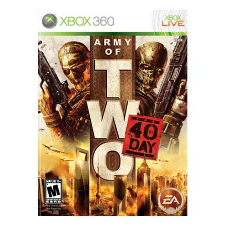 Jogo Army of Two the 40 TH Day para Xbox 360 - XBARMYOFTWO