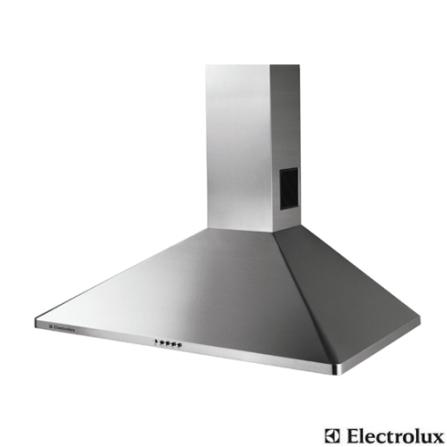 Coifa de Parede 90cm com 3 Velocidades / Inox - Electrolux - CE90X_220, 90 cm, Parede