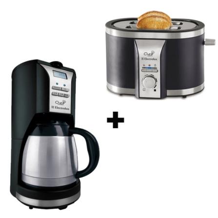 Cafeteira + Torradeira Chef Toast Electrolux, 110V