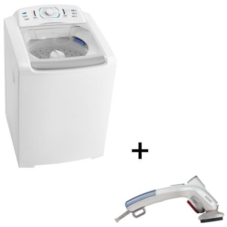 Lavadora de Roupa Electrolux + Steamer Portátil, 110V
