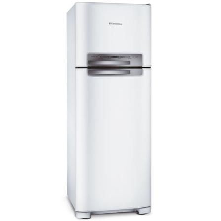(não ativar)Refrigerador 2 Portas 433L Frost Free / Branco - Celebrate Electrolux - DF49FBA, 110V, 220V