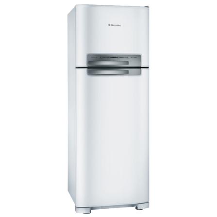 Refrigerador 2 Portas Electrolux 402L - DF49, 110V, 220V, De 351 a 500 litros, 02 Portas, 02 Portas, Sim, 402 Litros, 110 Litros, 292 Litros, 59 kWh/mês, Branco, 01 ano
