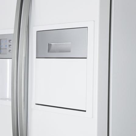 Refrigerador Side by Side 504L Elextrolux, 110V, 220V, Branco, Acima de 500 litros, 504 Litros, 170 Litros, 334 Litros, Classe A, Sim, Sim, Sim, 12 meses, 02 Portas, Side by Side